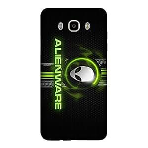 Abhivyakti Cities Alienware Hard Back Case Cover For Samsung J7