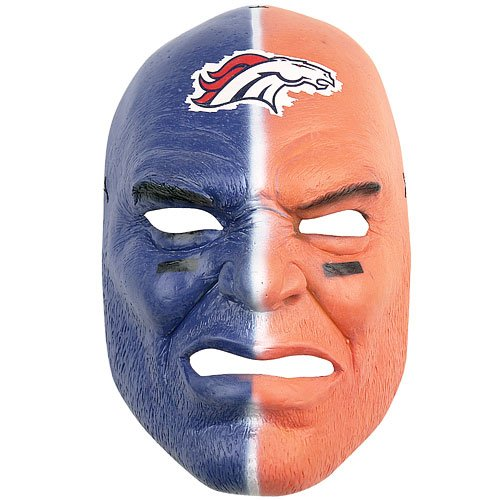 Denver Broncos NFL Fan Face
