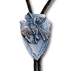 Amazon.com: End of the Trail Bolo Tie: Sports & Outdoors
