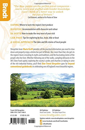 Shropshire (Slow Travel): Local, characterful guides to Britain's Special Places (Bradt Travel Guides (Slow Travel))