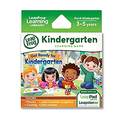 LeapFrog Learning Game: Get Ready for Kindergarten (for LeapPad tablets and LeapsterGS) from LeapFrog