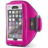 [iPhone 6s / 6 / Galaxy S6 Armband] LIFETIME WARRANTY Sport Gym Running Armband Case Compatible [Otterbox / Lifeproof /Other] For iPhone 6s / iPhone 6 / Galaxy S6 / S6 edge / S5 / HTC / Nokia / Motorola