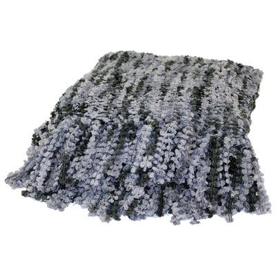 Gail Polyester Throw Color: Grey
