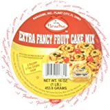 Paradise Fruit Cake Mix, Extra Fancy, 16 Ounce