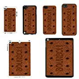 Sweets Biscuits cover case for Apple iPhone 5 - 5S - Black - T1066 - Bourbon