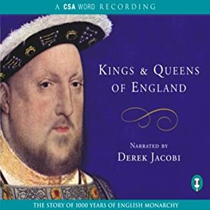 Kings and Queens of England Hörbuch