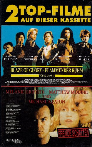 Blaze of Glory - Flammender Ruhm [VHS]