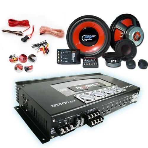 2700W CAR HiFi Set Endstufe + Lautsprecher CAR-46
