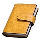 Teemzone Womens Leather Business Credit Id Card Case