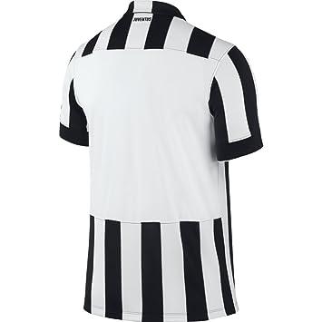 maglia calcio official JUVENTUS nike 611077 Taglia M BLACK WHITE ... 833ba64f46c