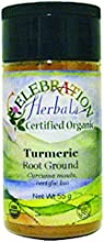 Celebration Herbals Turmeric Root Ground Organic