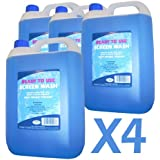 Ready Mixed Screenwash 5 Litre Bottles x 4 (case offer)