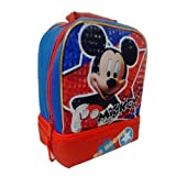 Disney Mickey Mouse So Rockin' Dual Compartment Children's School Lunchbox