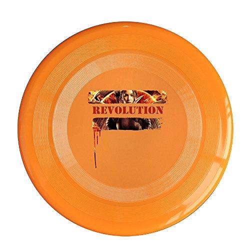 YFF The Hunger Games Mockingjay Revolution 150 Gram Ultimate Sport Disc Frisbee Orange