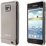 Ecence Silikon TPU Case für Samsung Galaxy S2 i9100/S2 Plus i9105 transparent