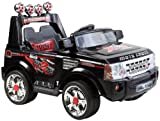 Range Rover Style Kid's Ride-on with Parental Remote Control & MP3, 12v Rechargeable battery (Black)
