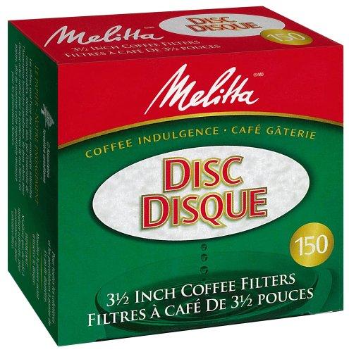 Melitta 629150 Disc Filter Paper PAB-150 Filter Paper, Green