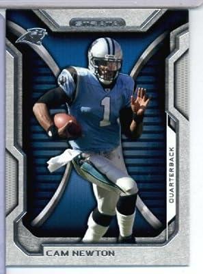 2012 Topps Strata Football Card #80 Cam Newton Carolina Panthers