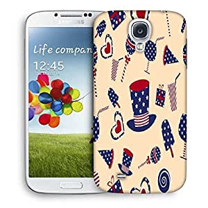 Snoogg Us Hat Printed Protective Phone Back Case Cover For Samsung S4 / S IIII