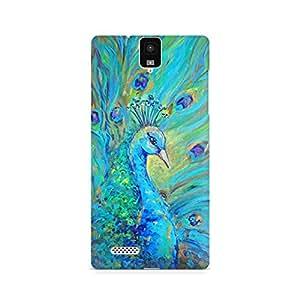 Mobicture Bird Premium Designer Mobile Back Case Cover For InFocus M330