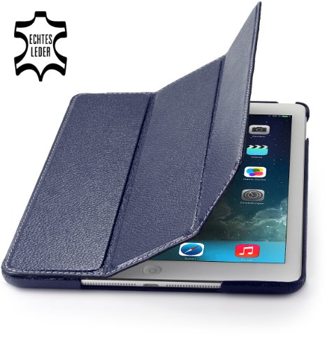 StilGut Couverture Genuine Leather Case for Apple iPad Air with Smart-Cover Function Black Friday & Cyber Monday 2014