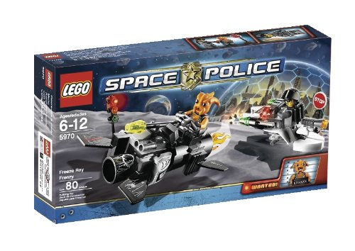 LEGO Space Police Freeze Ray Frenzy (5970) Amazon.com