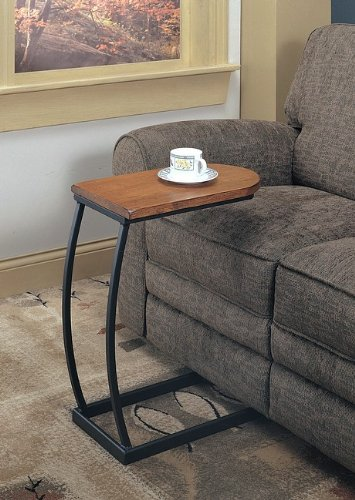 Coaster 900279 Sofa Table, Distressed Oak and Black Metal (Metal Snack Tray compare prices)
