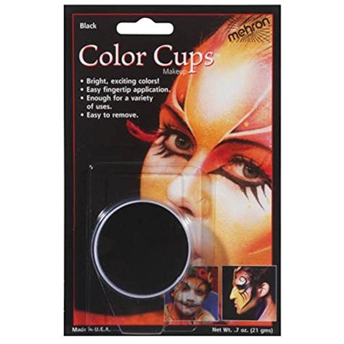 Carded Color Cup, Black