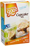 Australis Foods Something Good Vanilla Cupcake Mix, 18-Ounce Boxes (Pack of 4)