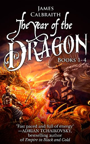 The Year Of The Dragon Series, Books 1-4 by James Calbraith ebook deal