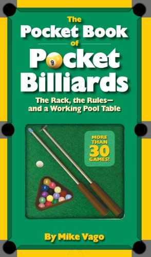 The Pocket Book of  Pocket Billiards: The Rack, The Rules - And A Working Pool Table