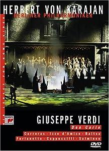 Verdi - Don Carlo / von Karajan, Carreras, Baltsa, Furlanetto, d'Amico, Cappuccilli, Salminen, Salzburg