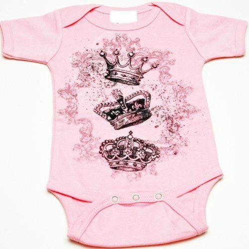Lollipop Moon Royal Crown Baby Creeper front-944311