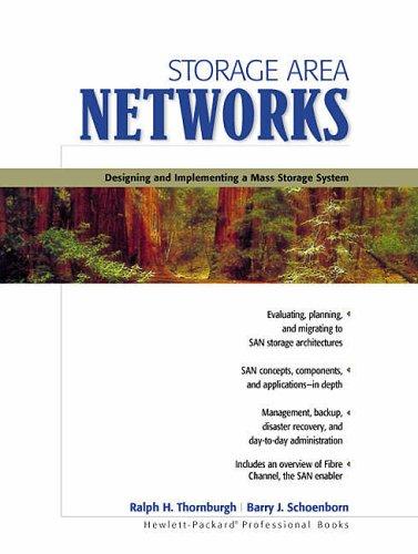 Storage Area Networks (Hewlett-Packard professional books)