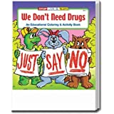 We Dont Need Drugs Coloring and Activity Book Trade Show Giveaway