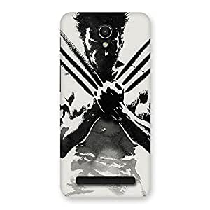 Enticing Ready Wolf Shade Back Case Cover for Zenfone Go