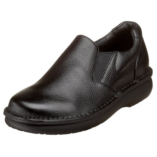 Propet Men's Galway Walker Slip-on,Black Grain,11 X (US Men's 11 EEE) (Propet Shoes Mens compare prices)