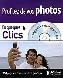 echange, troc Nicolas Boudier-Ducloy - Profitez de vos photos En quelques clics (1Cédérom)