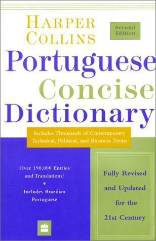 portuguese to english dictionary book