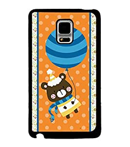 Printvisa 2D Printed Cartoon Designer back case cover for Samsung Galaxy Note Edge- D4421
