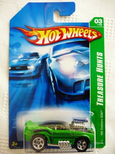 2007 Hot Wheels Treasure Hunt 3/12 - '69 Camaro Z/28