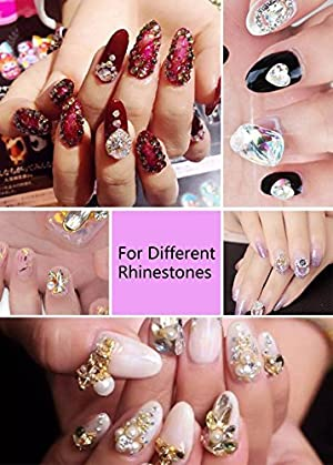 Nail Art 8ml Rhinestone Glue Gel Adhesive Resin Gem Jewelry Diamond