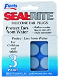 Flents By Apothecary Products, Inc. Flents Seal-rite Soft Silicone Ear Plugs, 3-Count (Pack of 6)