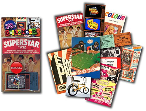 1970's Childhood - A replica memorabilia pack. Perfect gift for anyone who grew up in the 70s.