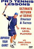 "Pro Tennis Lessons ""Ultimate Return of Serve"" Strategy and Tactics!"