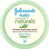 Johnson'S Baby Soothing Naturals Intense Moisture Cream 250Ml - Pack Of 2