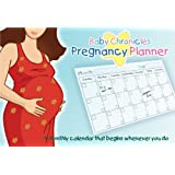 Baby Chronicles Pregnancy Planner: A Monthly Calendar that Begins Whenever You Do
