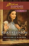 img - for Risky Reunion (Love Inspired Large Print Suspense) book / textbook / text book