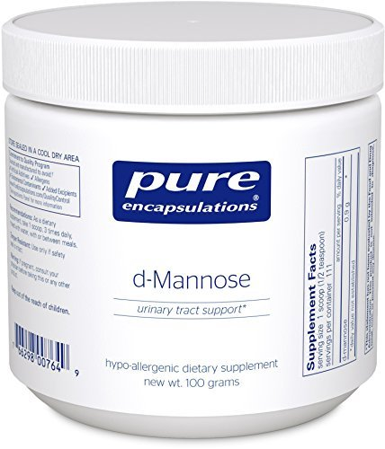 Pure Encapsulations - D-Mannose Powder - Hypoallergenic Supplement for Urinary Tract Support* - 100 Grams by Pure Encapsulations (Pure Encapsulations D Mannose compare prices)