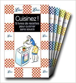 cuisinez coffret 5 livres de recettes pour cuisiner sans soucis la cuisine des maris la. Black Bedroom Furniture Sets. Home Design Ideas